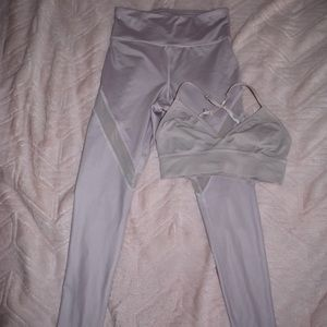 Forever 21 Lilac Athletic Set